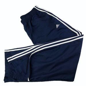 Adidas Men's Track Pants Blue Drawstring Size XL